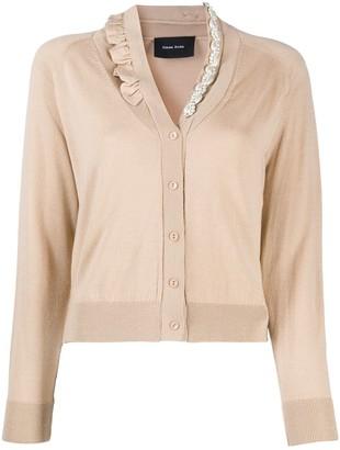 Simone Rocha embellished V-neck cardigan