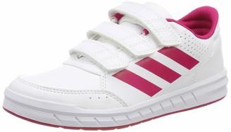 adidas AltaSport Cf K Gymnastics Shoes (FTWR White/Bold Pink) 10.5 UK