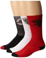Macbeth Taking Back Sunday 3-Pack Crew Socks