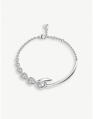 Shaun Leane Hook chain silver bracelet