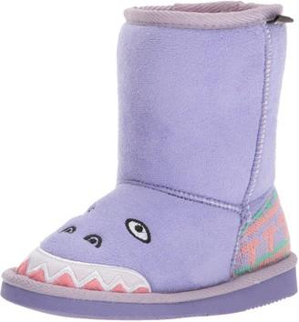 Muk Luks Girls Cera Dinosaur Boots Fashion
