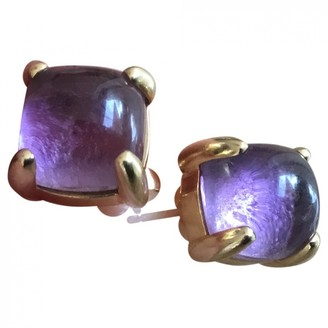 Tiffany & Co. Paloma Picasso Purple Yellow gold Earrings