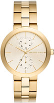 MICHAEL Michael Kors 39mm Garner Chronograph Bracelet Watch, Golden