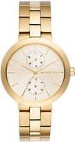 MICHAEL Michael Kors 39mm Garner Chronograph Bracelet Watch, Golden