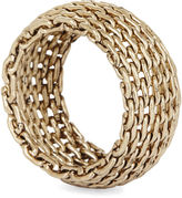 BCBGMAXAZRIA Mesh Ring