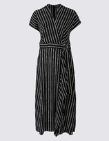 Marks and Spencer Striped Midi Dress