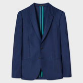 Paul Smith A Suit To Travel In - Men's Tailored-Fit Navy Loro Piana Wool Blazer