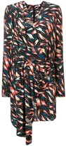 Givenchy asymmetric printed dress