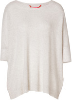 Dear Cashmere Cashmere Oversized Pullover in Sea Shell Mel