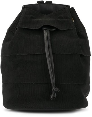 Salvatore Ferragamo Pre Owned Vara drawstring chain backpack Bag