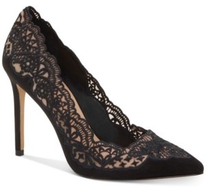 INC International Concepts Inc Kyomi Lace Pump, Created for Macy's Women's Shoes