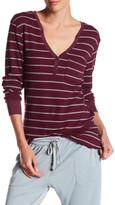 C&C California Thermal Stripe Sleep Shirt