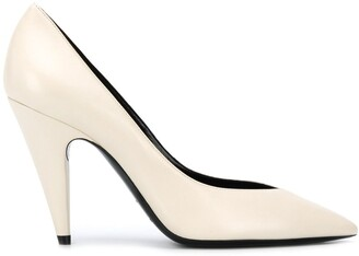 Saint Laurent V-cut vamp pumps