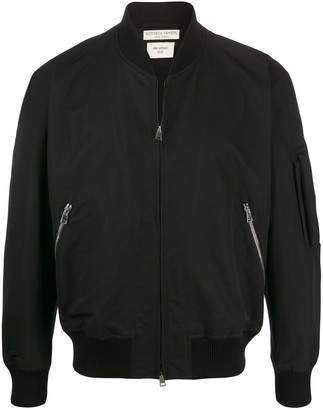 Bottega Veneta zipped bomber jacket