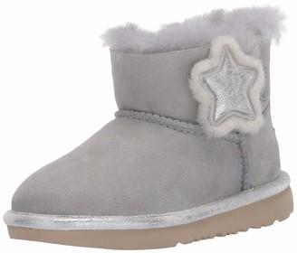 UGG Girl's Mini Bailey Button II Star Boot