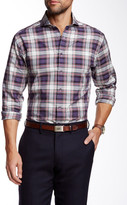 Vince Camuto Plaid Slim Fit Short Shirt