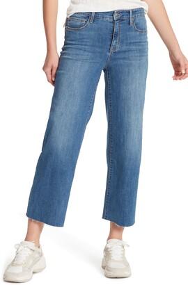Sanctuary Non Comformist High Waist Crop Wide Leg Jeans