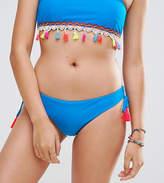 South Beach Tassel Loop Side Bikini Bottom