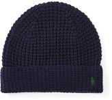 Polo Ralph Lauren Waffle-Knit Merino Wool Hat
