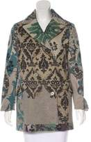 Etro Damask Printed Coat