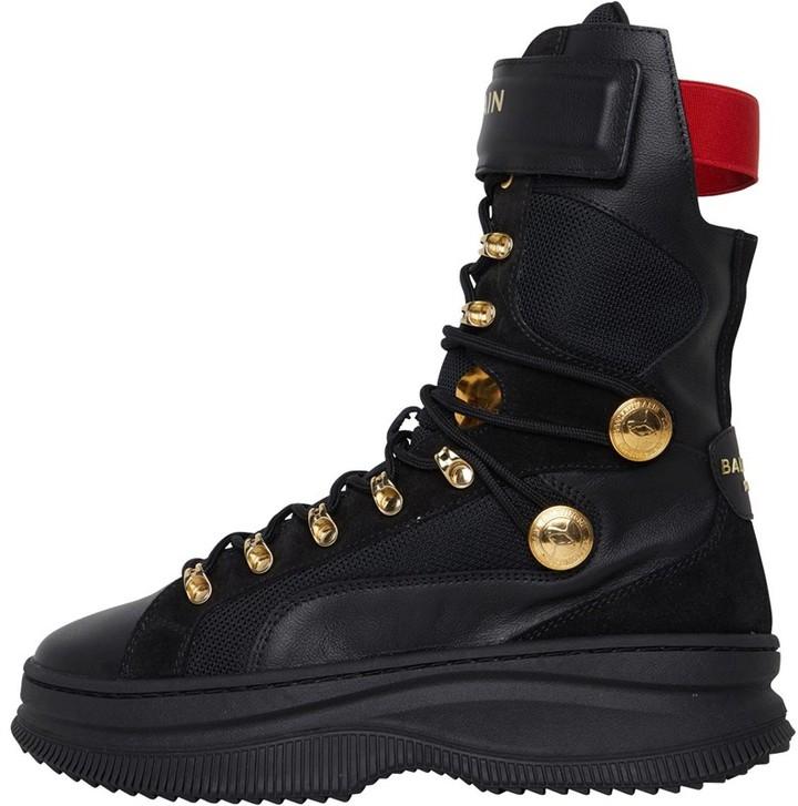 Thumbnail for your product : Puma Womens X Balmain Deva Boots Black