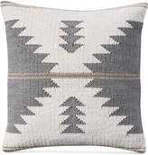 """Lucky Brand Kilim 18"""" Square Decorative Pillow, Created for Macy's Bedding"""