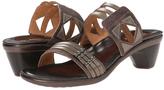 Naot Footwear Brown Haze Afrodita Leather Sandal