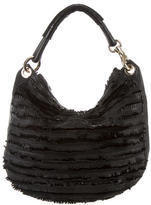 Jimmy Choo Fringe-Trimmed Hobo
