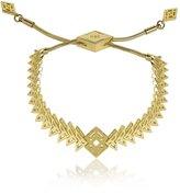 Noir Brass in 18kt Plated Inca Bracelet