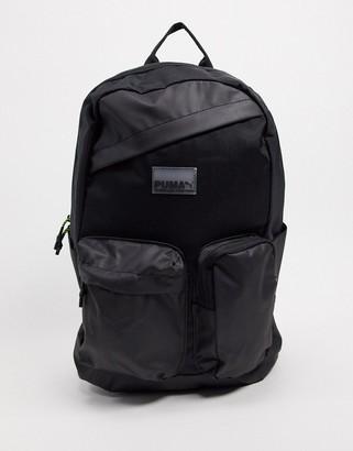 Puma Momentum sling cross body bag in black