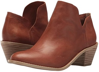 Kelsi Dagger Brooklyn Kenmare Ankle Boot (Russet Veg Leather) Women's Shoes