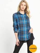Denim & Supply Ralph Lauren Ralph Lauren Boyfriend Check Shirt - Halsey Plaid