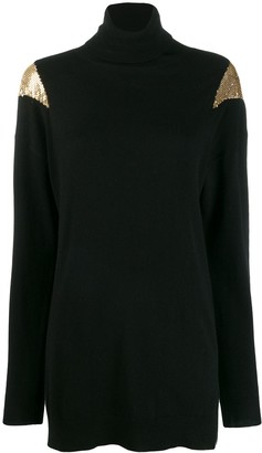 Pinko Chainmail Detail Jumper