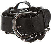 Tod's Leather Chain-Link Belt