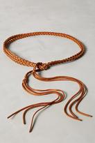Anthropologie Tresse Braided Wrap Belt