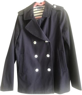 Petit Bateau Navy Cotton Jacket for Women