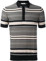 Paolo Pecora striped polo shirt - men - Cotton - S