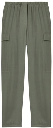 Theory Utility Silk Cargo Pants