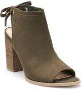 Lauren Conrad Sunflower Women's Peep Toe Ankle Boots
