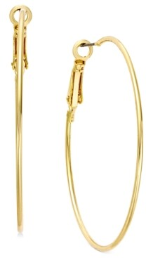 "INC International Concepts Inc Large 2"" Gold Tone Wire Hoop Earrings, Created for Macy's"