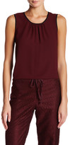 Anne Klein Sleeveless Pleated Tank