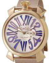 GaGa MILANO Men's Watch 5081.3 Free Shipping Stock