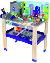 Boikido Wooden 2-in-1 Workbench Build & Drive Activity Center