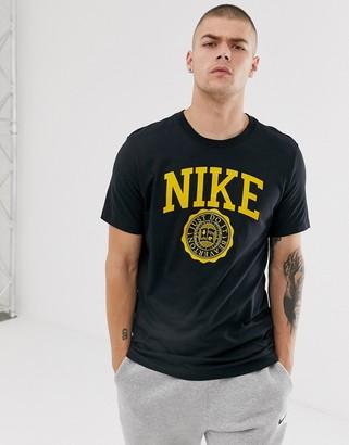 Nike Collegiate Logo T-Shirt in white