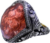 Sevan Biçakci Carved Roses Ring