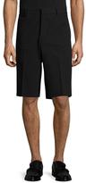 Givenchy Solid Flat Front Shorts