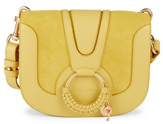 See by Chloe Hana Leather O-Ring Saddle Bag