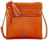 Dooney & Bourke Dallas Cowboys Florentine Triple Zip Crossbody Bag