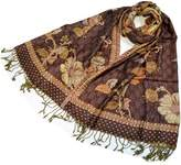 NEW Colors Women's Pure Indian Ethnic Paisley Pashmina Scarf Shawl Km249