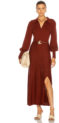Nicholas Katya Dress in Rust | FWRD